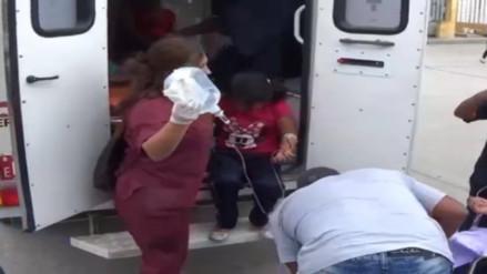 Chimbote: 50 niños intoxicados por fumigación de cultivos de caña
