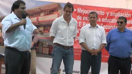 Martin Rivas saludó la buena gestión gubernamental de Ollanta para apoyar a la región Lambayeque
