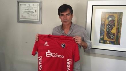 Cienciano anunció a Óscar Ibáñez como su nuevo director técnico