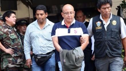 Dirandro presentó a comisario detenido en Casma por narcotráfico
