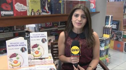 Lee Miércoles: Sara Abu Sabbah presenta libro sobre nutrición infantil
