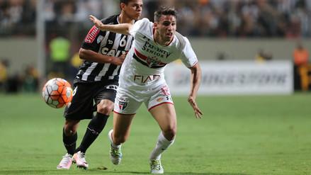 Sao Paulo eliminó a Atlético Mineiro y pasó a semifinal de Libertadores