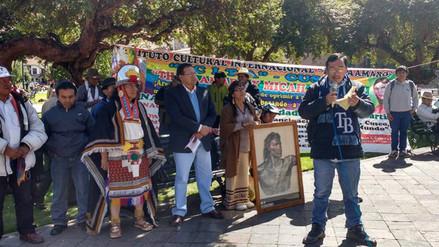 Colectivos conmemoraron 236 años del martirologio de Túpac Amaru