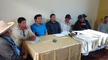 Pobladores de Bambamarca anuncian paro indefinido contra expansión minera