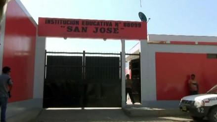 Suspenden clases en colegio de Nepeña hasta el lunes