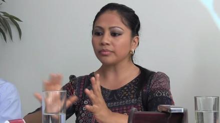 Excandidata Heidy Juarez renunció al partido Alianza Para el Progreso