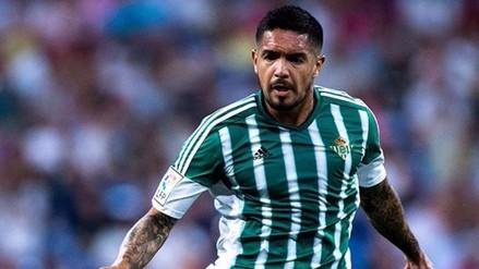 Juan Vargas: Real Betis lo declaró transferible para la próxima temporada