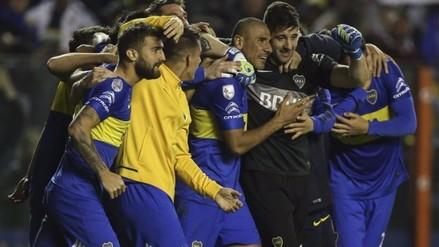 Boca Juniors derrotó a Nacional en dramática definición por penales