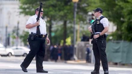 Un incidente armado lleva al cierre temporal de la Casa Blanca [FOTOS]