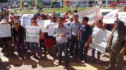 Escolar de Nepeña se desmaya en medio de protesta tras intoxicación