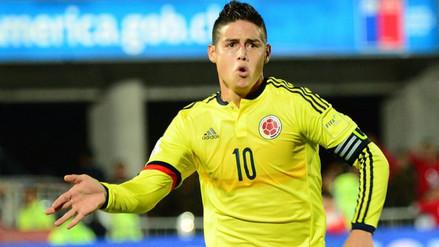 Copa América Centenario: James Rodríguez encabeza la lista de Colombia