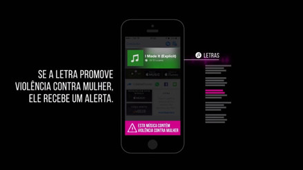 Shazam alertará sobre canciones que sean machistas