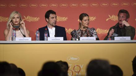 Cannes: Sean Penn y Charlize Theron incómodos en la gala