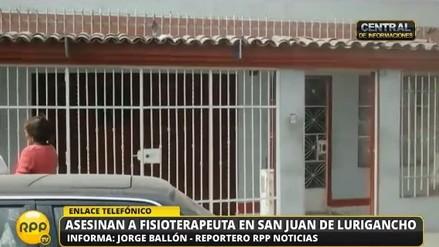 San Juan de Lurigancho: encuentran muerto a fisioterapeuta en su casa