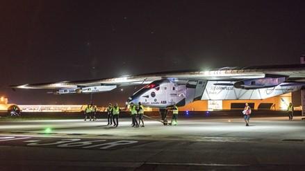 Avión solar continúa su viaje alrededor del mundo