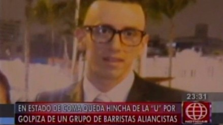 Hincha de la 'U' en coma tras ataque de barristas de Alianza Lima en VMT