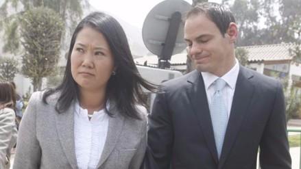 Fiscalía amplía por 60 días pesquisas a Keiko Fujimori y su esposo