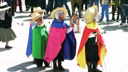 """Huancayo: realizan pasacalle de """"Los Janachos"""" para fomentar el turismo en Quilcas"""