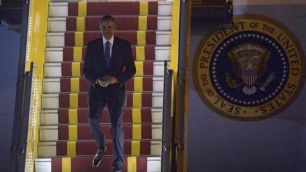 Presidente Barack Obama llega a Vietnam para visita oficial