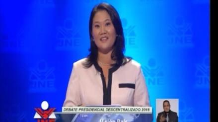 Keiko Fujimori acusó a PPK de defender los transgénicos