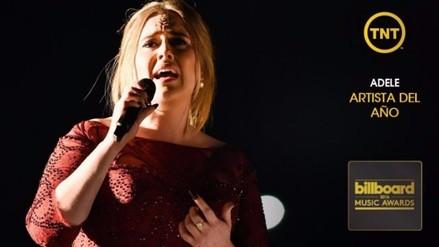 Premios Billboard: Adele se coronó como la Mejor Artista de 2016