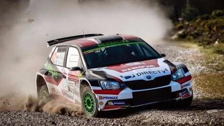 Nicolás Fuchs acabó segundo en la RWC2 del Rally de Portugal