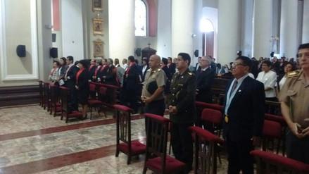 Jueces participan en misa por aniversario de Corte Superior de Justicia