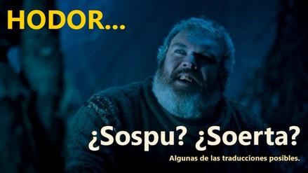 Game of Thrones: ¿cómo se debe traducir Hodor al castellano?