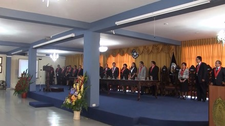 Corte Superior de Justicia de Lambayeque celebró 96 aniversario