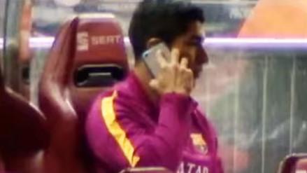 Luis Suárez llamó a su novia tras lesionarse en la Copa del Rey