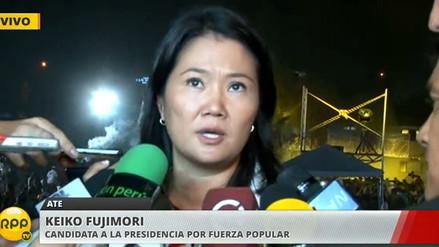 Keiko Fujimori: José Chlimper será el secretario interino de Fuerza Popular