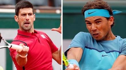 Roland Garros: Rafael Nadal y Novak Djokovic ganaron y pasaron de fase
