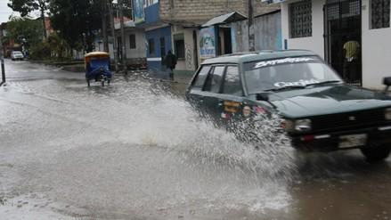 Moyobamba: intensas lluvias dejaron 12 viviendas afectadas