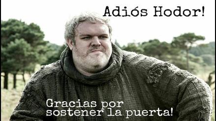 Game of Thrones: la tristeza por la desaparición de Hodor reflejado en memes