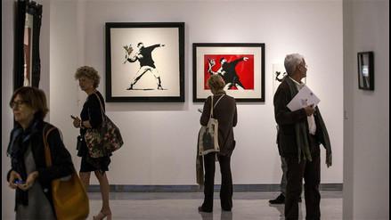 YouTube: abren en Roma la más grande exposición de Banksy