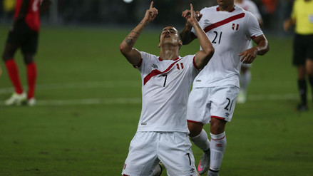 Luiz Da Silva emocionado por su primer gol con la Selección Peruana
