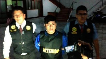 Joven sicario fue detenido por policías de Chimbote