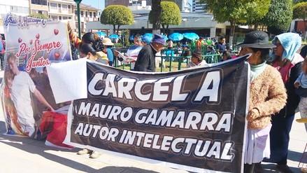 Huancayo: ambulantes protestan en la Fiscalía por caso Antonio Huarcaya