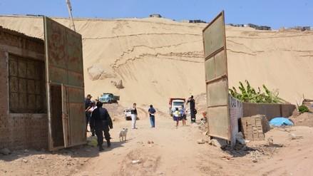Trujillo: hallan maquinaria que iba a ser usada para extracción ilegal de arena