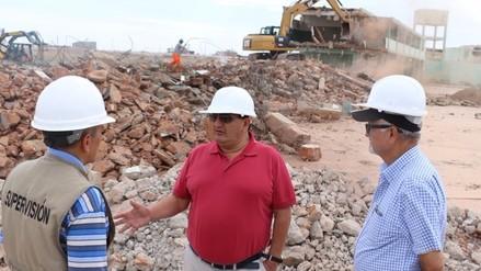 Piden a gobierno regional culmine construcción del colegio militar 'Elías Aguirre'