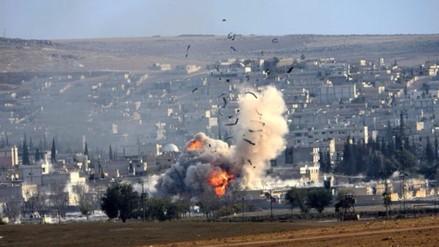 Siria: Más de cien niños muertos por bombardeos de coalición internacional