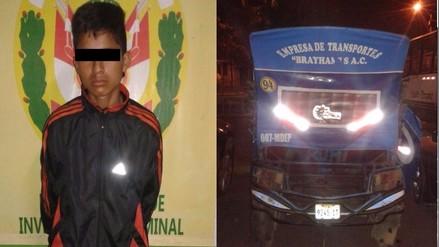 Trujillo: cae adolescente que asaltó a mototaxista