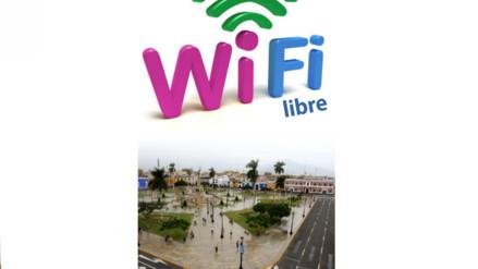 Wifi gratis en Centro Histórico de Trujillo