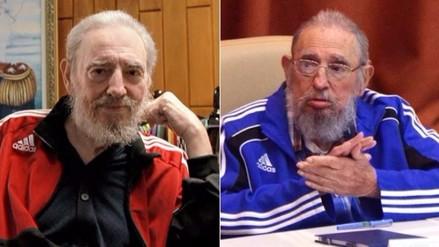 ¿Por qué Fidel Castro usa buzos de marca Adidas?