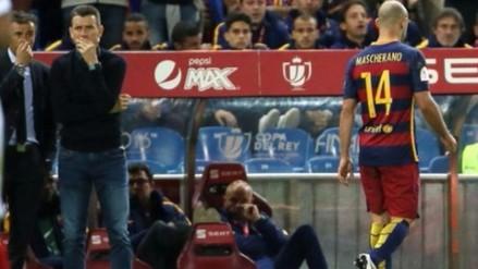 Barcelona: Javier Mascherano cerca de pasar a Juventus, según prensa europea