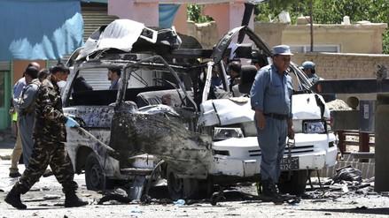 Afganistán: 10 muertos en ataque a autobús con empleados judiciales