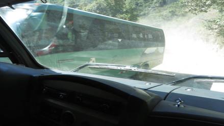 Transporte de buses en Machu Picchu genera contaminación ambiental