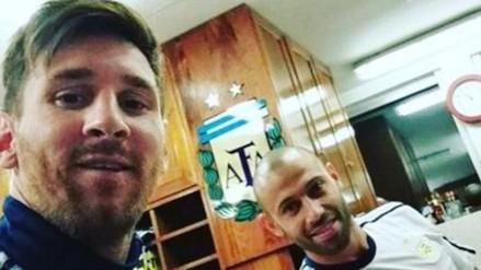 Lionel Messi y Javier Mascherano se incorporaron a la Selección de Argentina