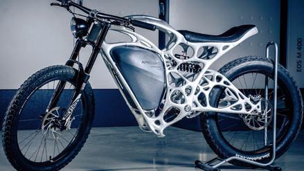 Airbus presenta la primera moto impresa en 3D