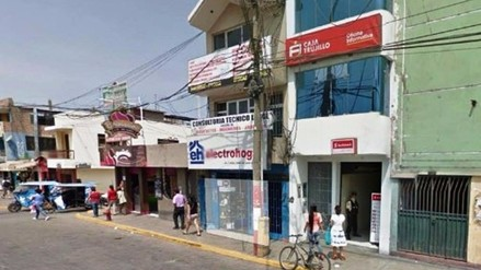 Chancay: delincuentes asaltan agencia bancaria y se llevan 8 mil soles